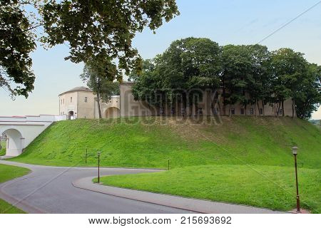 Old Fortress in Grodno, Republic of  Belarus