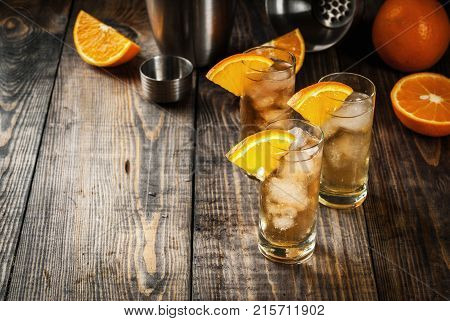 Alcoholic Vodka Orange Cocktail