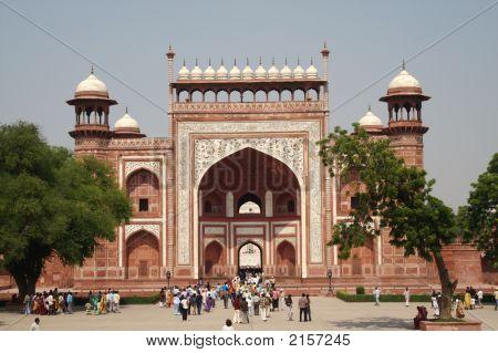 West Gate To Taj Mahal