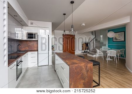 Modern Apartment With Open Kitchen