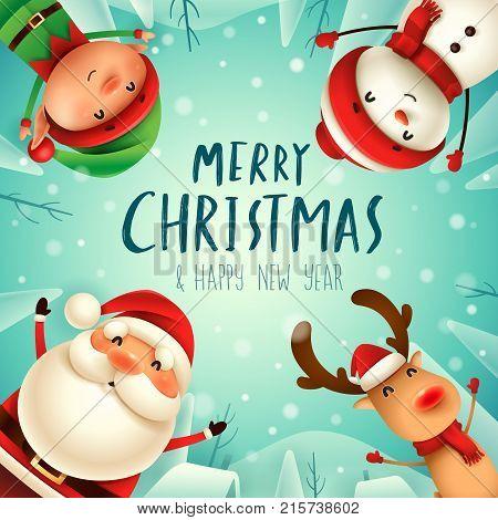 Santa4_friends_circle 01