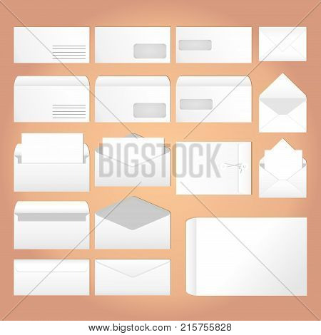 Different envelopes for business and regular correspondence
