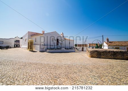 Cacela Velha, Algarve, Portugal - July, 2017: Cacela Velha Old Fishermen Village In Algarve Portugal