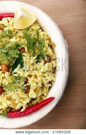 Indian Rice Breakfast