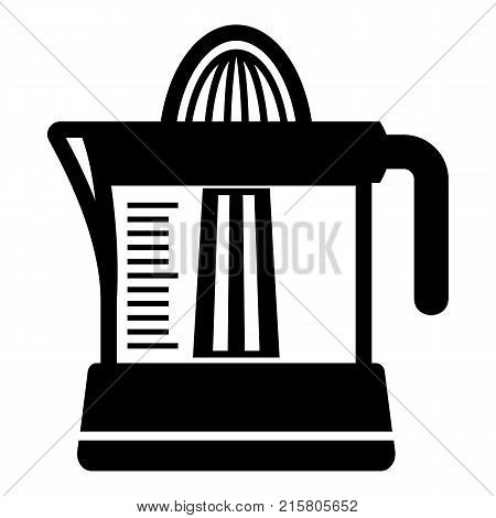 Juicer icon. Simple illustration of juicer vector icon for web