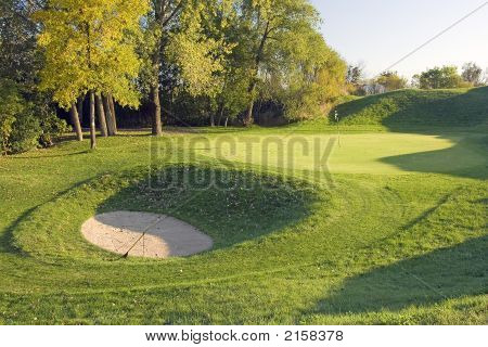 Deep Golf Bunker