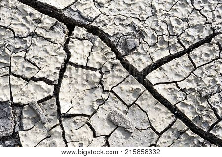 Cracked Mud Earth Drought Background Macro