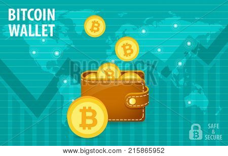 Bitcoin Wallet Electronic Crypto Currency Transaction Everywhere