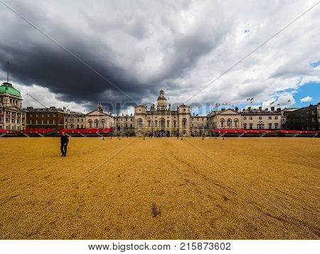 Horse Guards Parade In London, Hdr