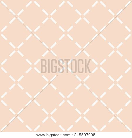 Tile pastel quilted vector pattern for seamless decoration wallpaper