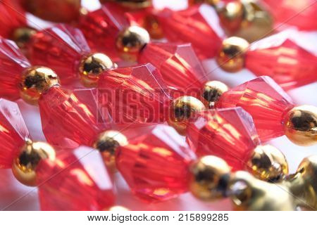 Red abstruct background or texture, dimond, chrismas