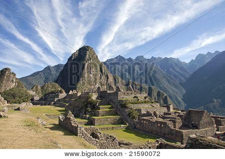 Macchu Picchu Clouds
