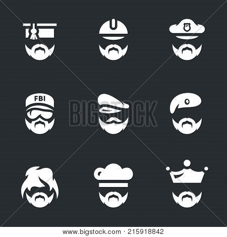 Scientist, builder, policeman, fbi, captain, soldier, homeless, cook, king.