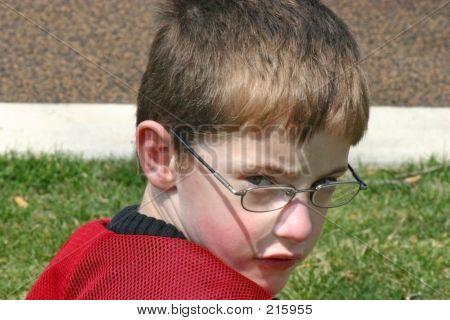 Boy Looking At Camera