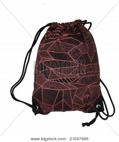 Rojo bolsa de deporte