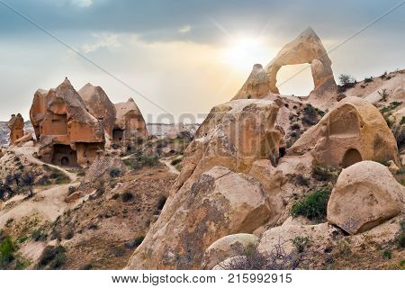 Cave Towns Goreme National Park And The Rock Sites Of Cappadocia