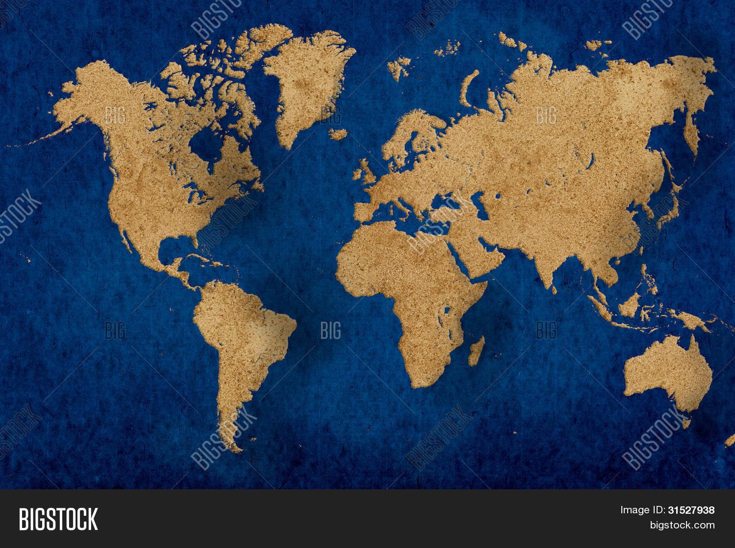Illustrative World Map Image & Photo (Free Trial) | Bigstock on