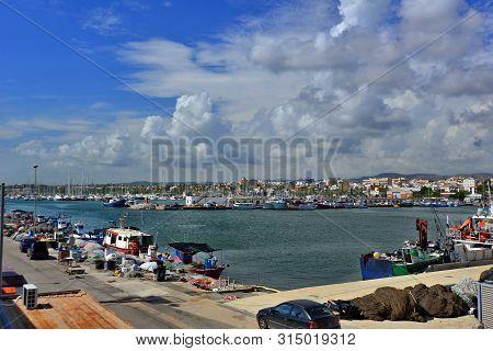 Catalonia, Vilanova I La Geltru Town; Fishing Port And Mediterranean City