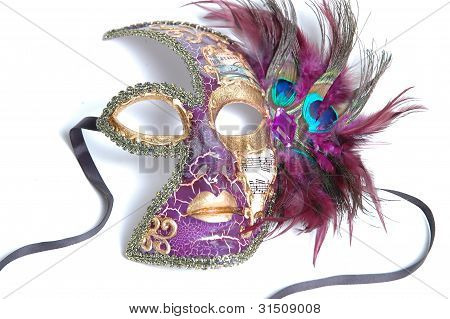 Mardi Gras mask from New Orleans