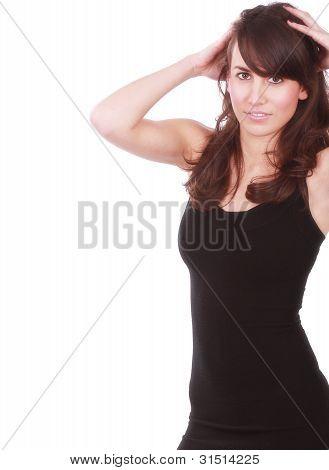 Girl In Fashion Pose