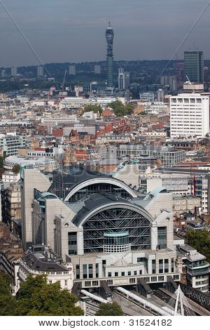 London Charing Cross Station View