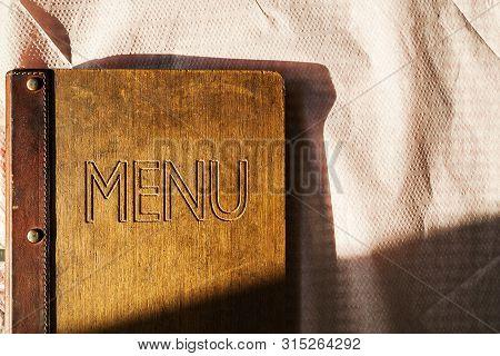 Old Restaurant Menu