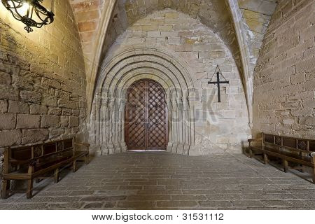 Monastery Of Santa Maria De Poblet Actual Input