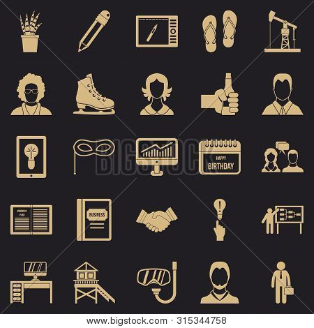 Joint Biz Icons Set. Simple Set Of 25 Joint Biz Icons For Web For Any Design