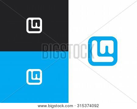 Initial Letters L And N Logo Design Template Elements