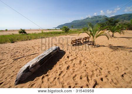 Malawi-See Strand