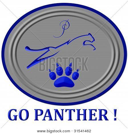 Symbol of a panther