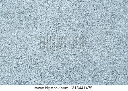 Gray Concrete Wall With Stucco In Vintage Style. Whitewash Rough Surface. Abstract Grunge Texture. S