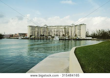 Water Front At Free Port, Grand Bahama