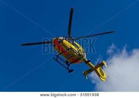 ADAC Luftrettung Notarzt