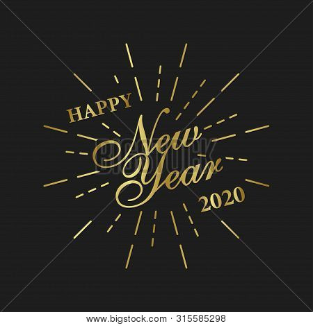 Happy New Year 2020 Vector Photo Free Trial Bigstock