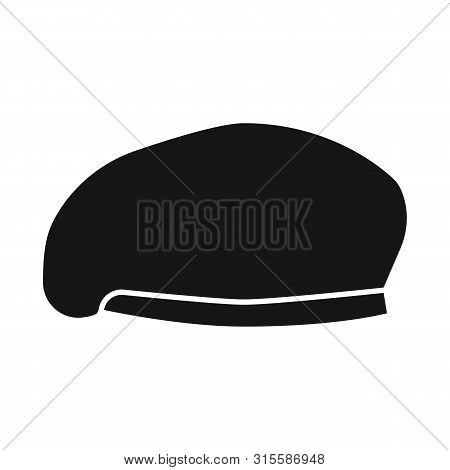 Vector Design Of Hats And Commando Symbol. Collection Of Hats And Clothes Stock Vector Illustration.
