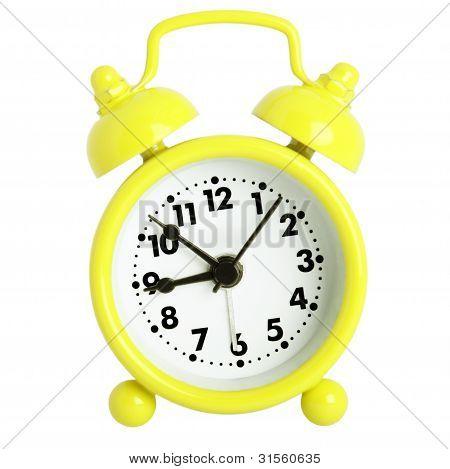 Yellow Alarm Clock