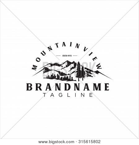Landscape Mountain Vector Photo Free Trial Bigstock