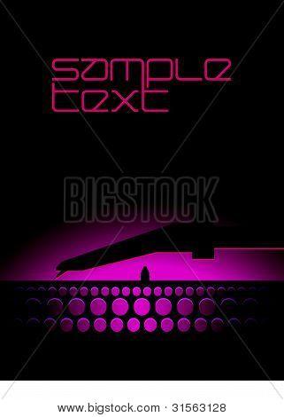 Vector DJ Pickup