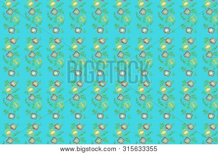 Vivid Fresh Vegetables Pattern Texture And Background