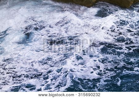 Windy Blue Sea - The Power Of Nature