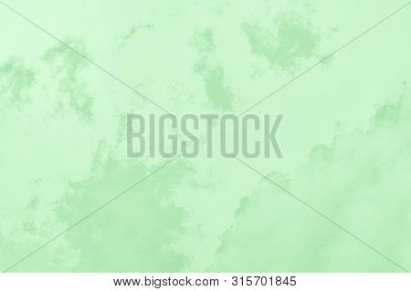 Green Mint Gradient Color. Marble Texture, Patchy Background
