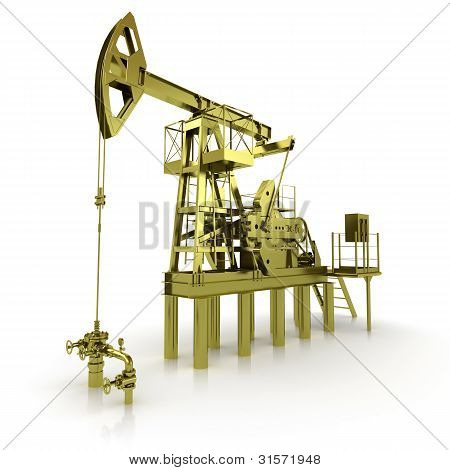 Golden Machine Oil Pump