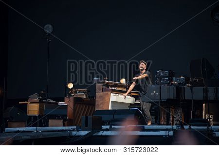 Nils Frahm Playing On Piano