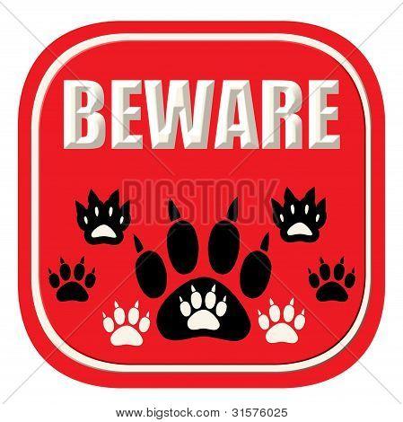 Beware of animals