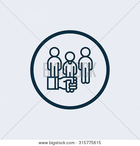 Candidates Icon Isolated On White Background. Candidates Icon Simple Sign. Candidates Icon Trendy An
