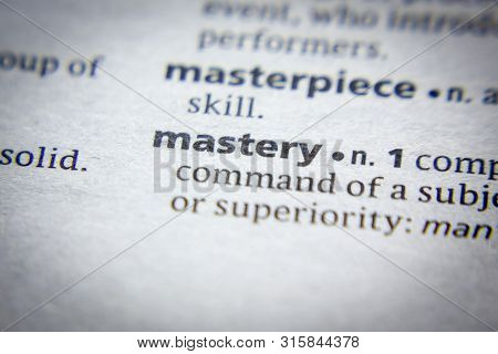 Word Or Phrase Mastery In A Dictionary