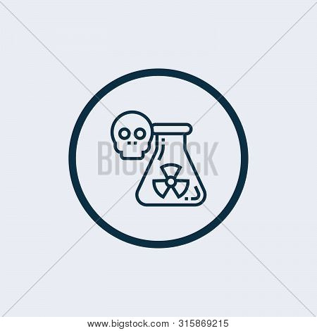 Save Download Preview Nuclear Icon Isolated On White Background. Nuclear Icon Simple Sign. Nuclear I