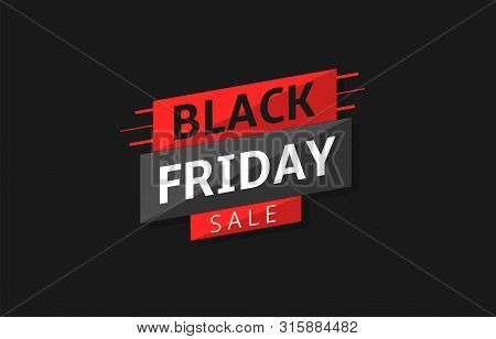 Black Friday. Black Friday Sale Label, Black Friday Discount