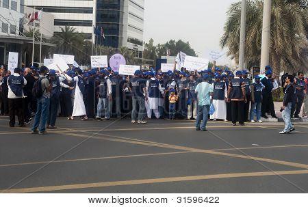Peace March Participants